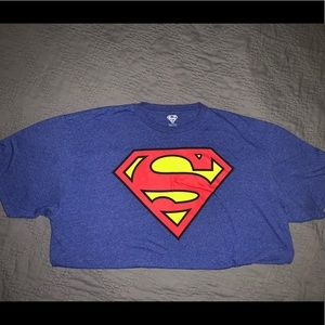 Blue Soft Superman T-Shirt Size XXL Worn Once: EUC